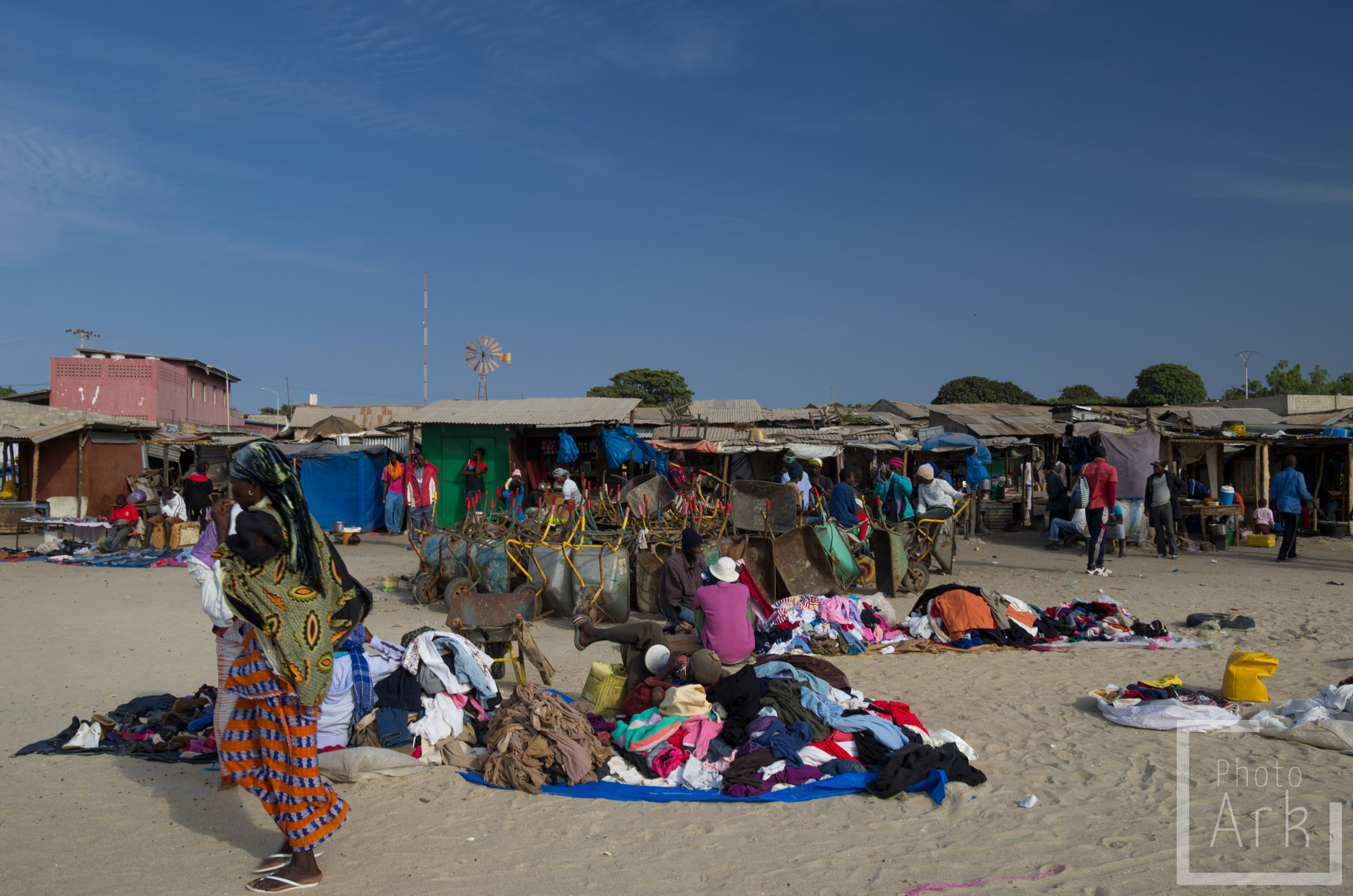 The Gambia Beach Market
